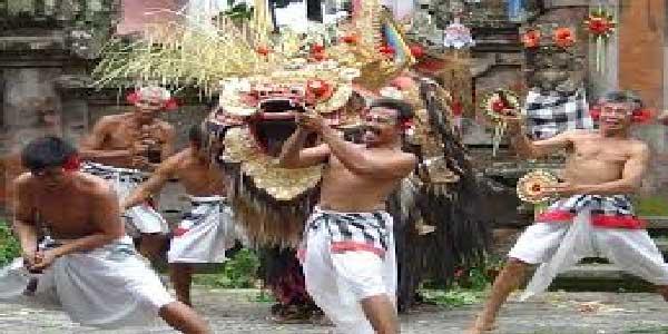 barong, keris dance