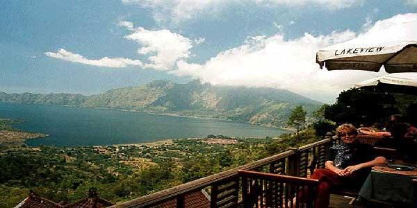 batur lake, batur lake nice view