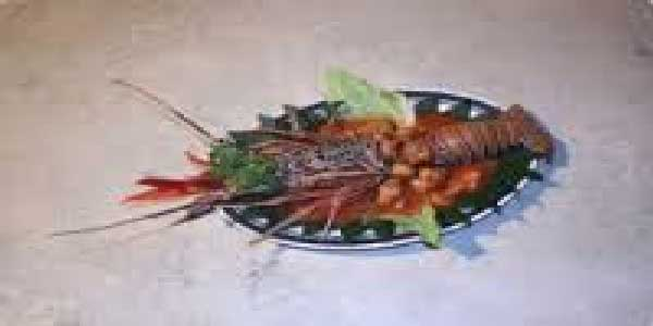 lobster, set menu