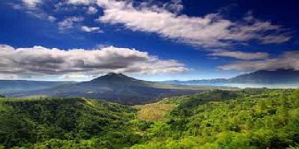 mount batur, volcano view