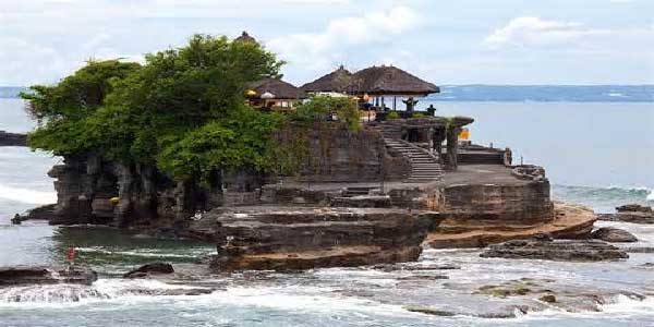 tanah lot, temple