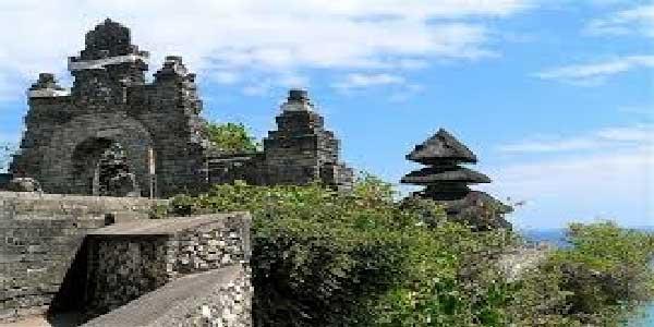 uluwatu temple, temple on the rock