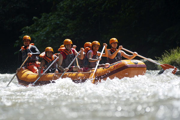 3 Hours Fun Rafting at Bukit Cilli Rafting Company