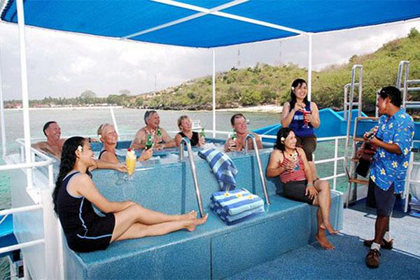 bali fun ship cruise program, island explorer cruises
