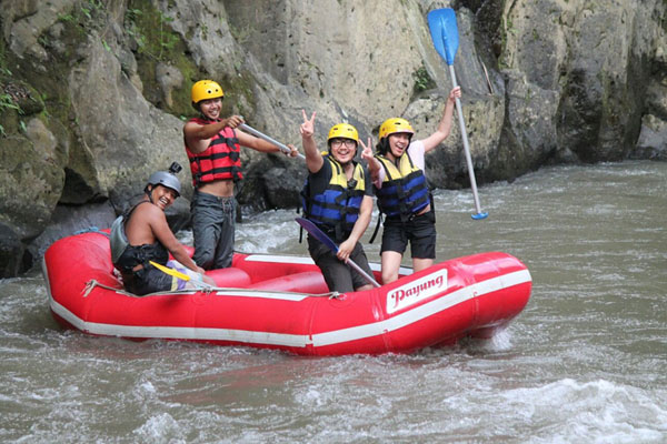 bali rafting, payung rafting, experience guides
