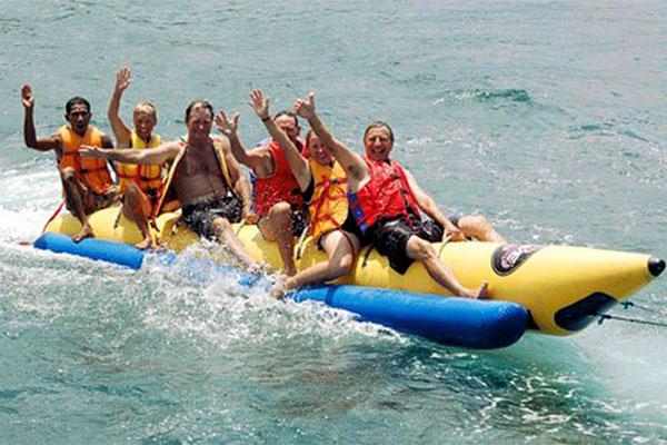 banana boat, lembongan, island explorer cruises