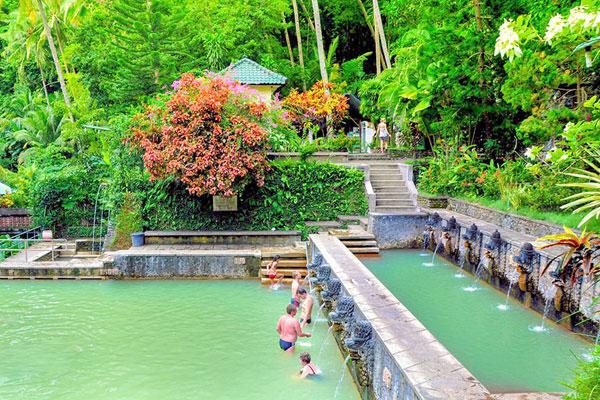banjar hot spring, hot water bali