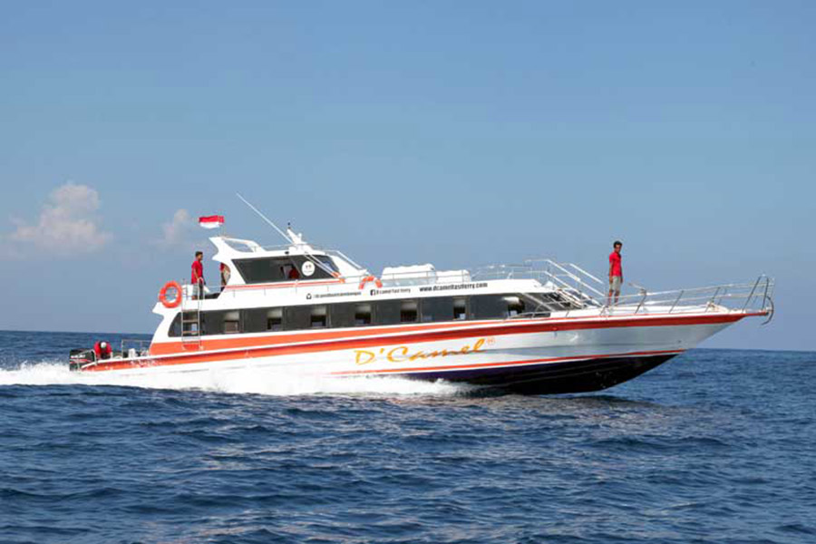 dcamel fast ferry, lembongan one day trip