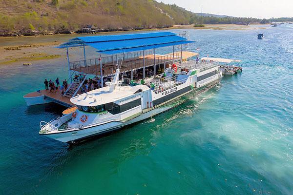 eka jaya fast boat vessel view