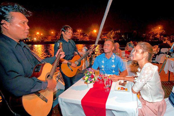 evening cruise, live music, bali hai cruise