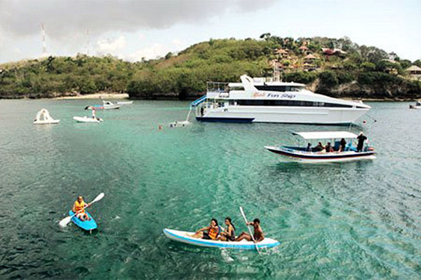 lembongan island, bali fun ship, island explorer cruises