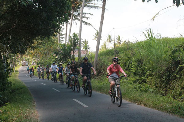 ubud, local village, ubud bike tour