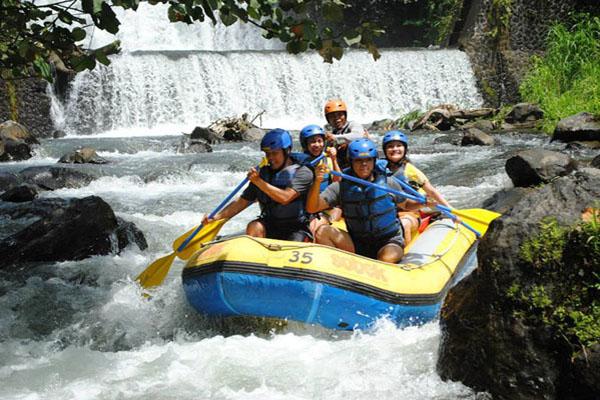 fantastic experience, sobek telaga waja rafting