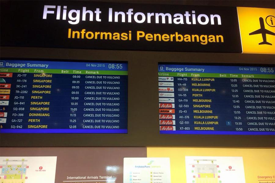 flight information centre, ngurah rai airport, arrival service