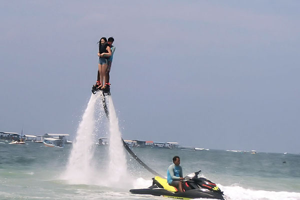 Fly Boarding by Pandawa Marine Adventure