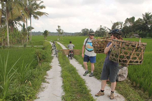 fun bike tour, ubud tour, ubud bike tour