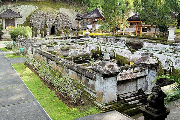 goa gajah temple, elephant cave temple