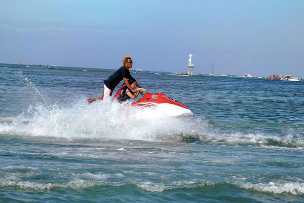 Jet ski, tanjung benoa water sports
