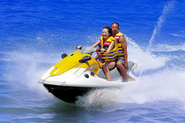 Jet Ski with instructor at BMR Bali Water Sports