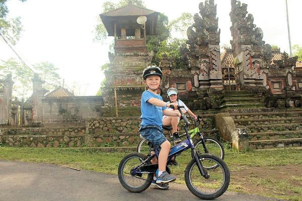 kintamani downhill bike tour, bali moon bike