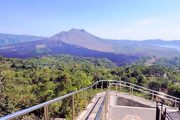 kintamani, batur volcano