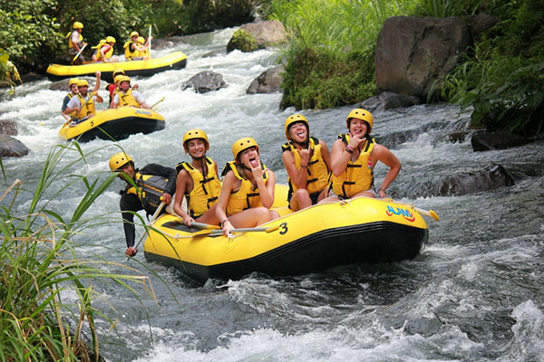 Longest track with Telaga Waja River Rafting