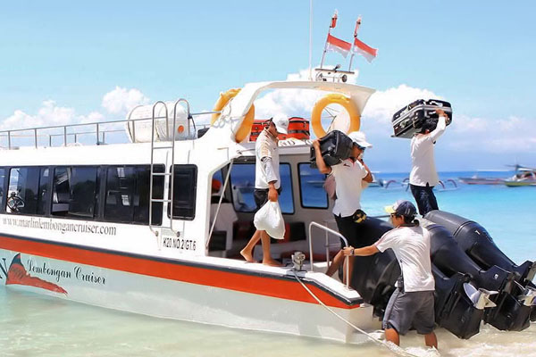 marlin fast boat, porter service