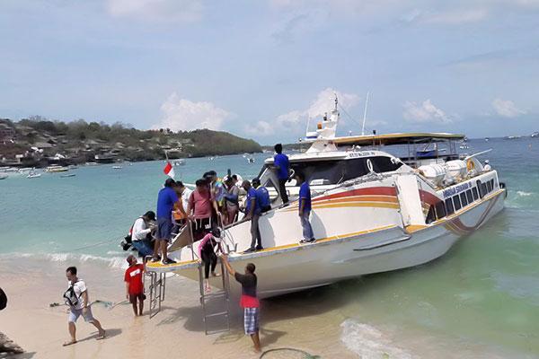 marina srikandi fast boat view