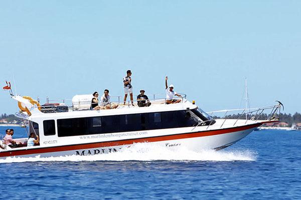 marlin lembongan cruiser, fast boat to lembongan