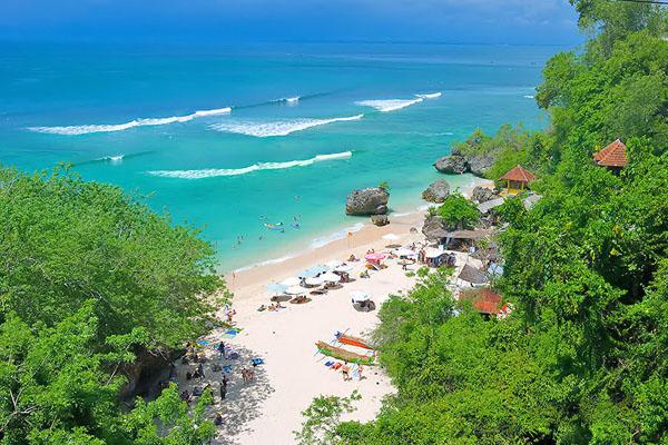 padang padang beach, bali tours