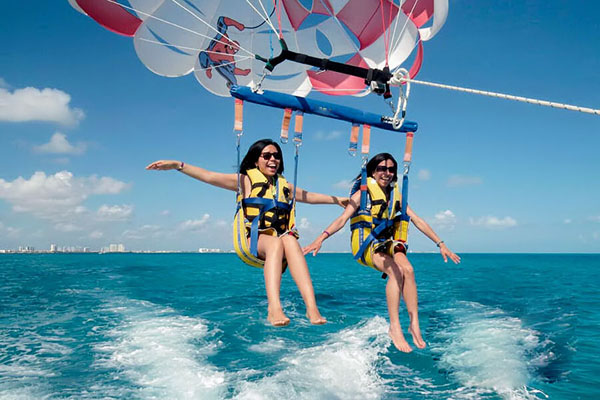 parasailing adventure, batara water sports