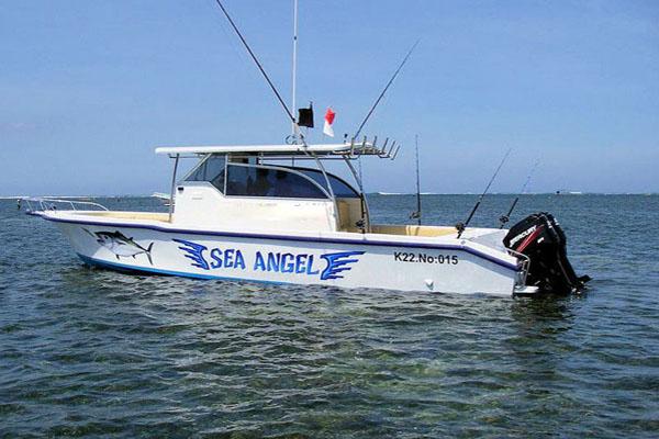 sea angle boat, bali superior fishing boat