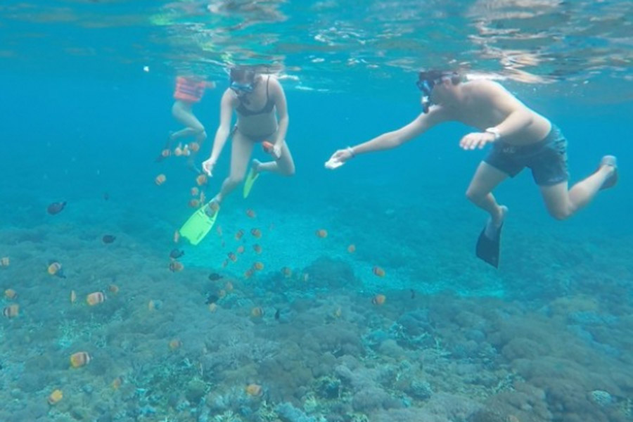 snorkeling in lembongan, lembongan one day trip