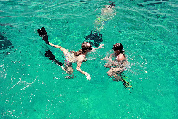 Snorkeling in Lembongan with Bounty Cruise