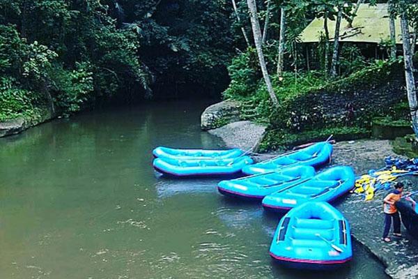 sobek ayung river rafting, finish point, bali rafting