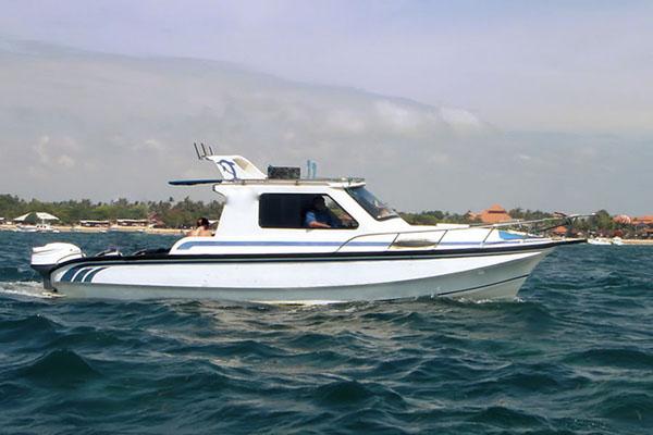 nusa dua fishing boat, boat charter