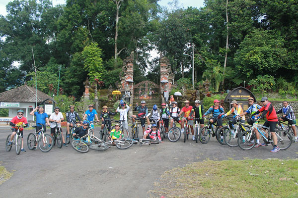 starting point, bike tour, cycling tour, jatiluwih rice terrace