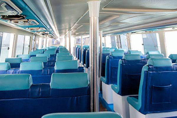 sugriwa express interior view
