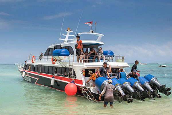 sugriwa express, powerful boat service