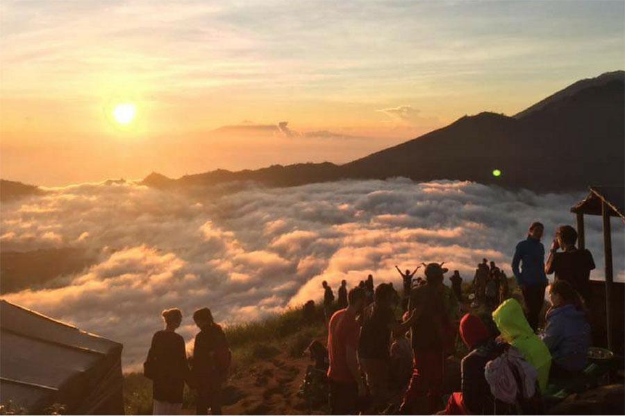 Batur trekking, sunrise view, batur camping tour