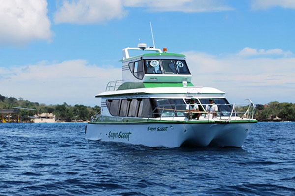 super scoot vessel, fast boat to lembongan