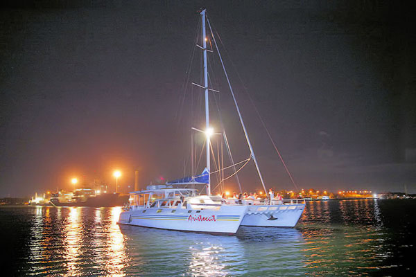 Bali Hai, sailing catamaran, evening cruise
