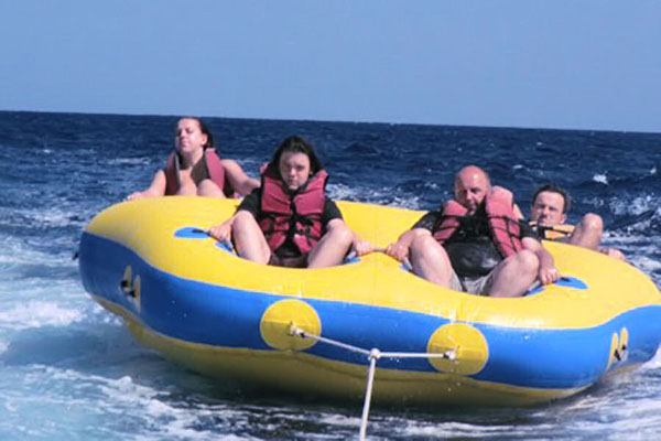 tubing, benoa tirta harum water sports