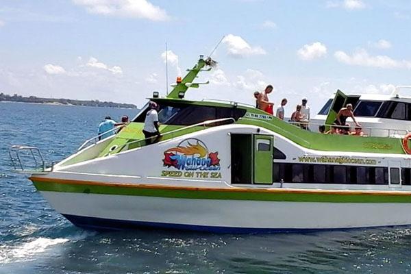 wahana gili ocean fast boat view