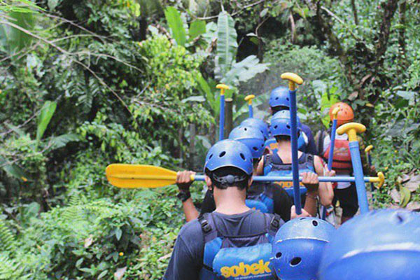 starting point, rafting adventure, sobek bali adventure