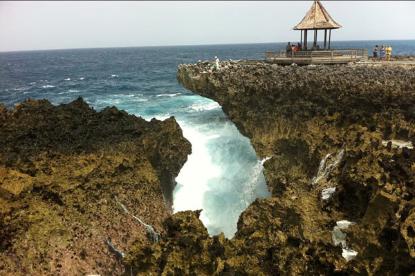 Water blow, nusa dua beach