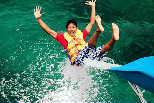 water slide, bali fun ship, island explorer cruises